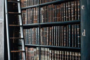 図書館、本、アーカイブ