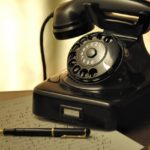 電話 黒電話